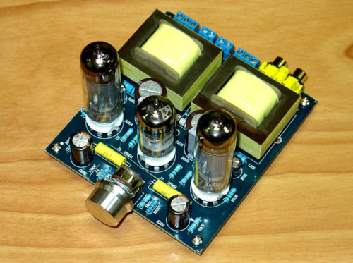 HiFi Stereo 6N2+6P1 Single-ended Class A Tube Amplifier Amp Board DIY Kit douk audio 6v6 single ended class a hifi tube stereo amplifier diy kit 1set