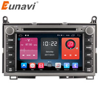Eunavi 2GB 2 Din Android 6 0 Quad Core Car Dvd Player Autoradio Stereo Gps Tape