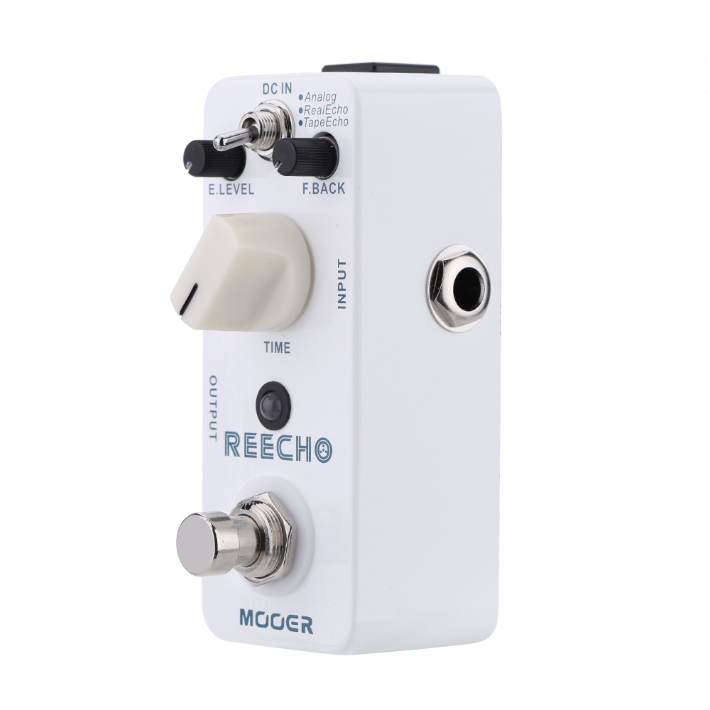Mooer Reecho Micro Mini Digital Delay Guitar Effect Pedal for Electric Guitar True Bypass Guitar Accessories