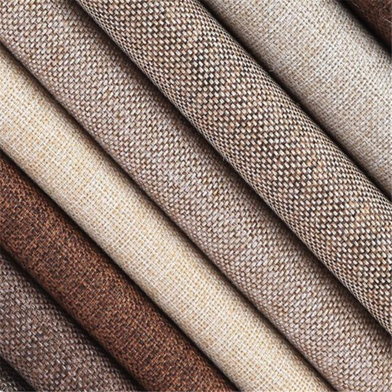 Hot sale sewing diy cloth quality thick solid cotton linen - Forro para sofas ...