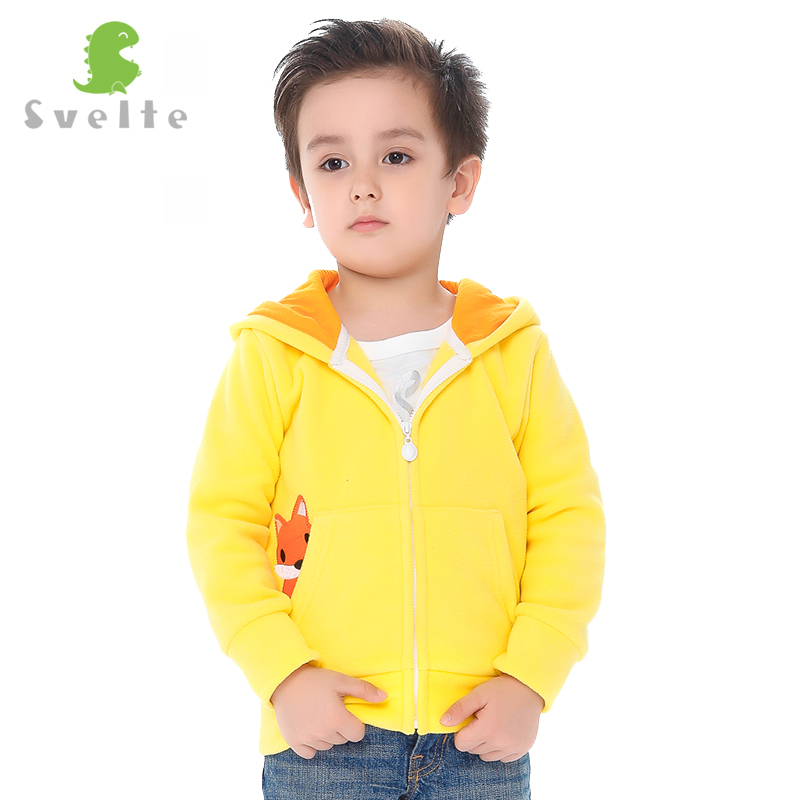 Svelte Brand Kids Boys Girls Unisex Cute Polar Fleece Hoodies Right Pocket witch Saucy Cartoon Pattern