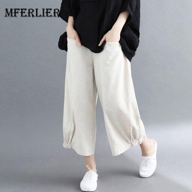 1b74322ff6a Mferlier Summer Wide Leg Pants ...