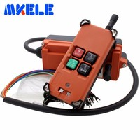 Hot Sale Universal Wireless Radio Industrial Remote Control Distance For Overhead Crane AC DC