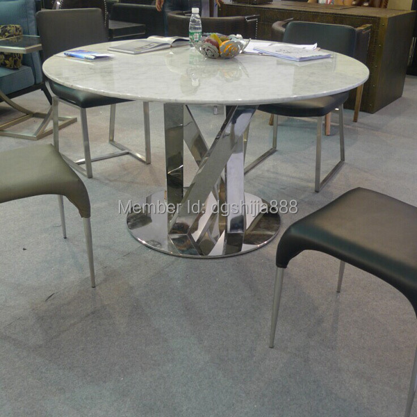 Negotiatable Home Furniture Marble Top Dining Table With Stainless Steel Legs For Living Room In Sets From On Aliexpress Alibaba