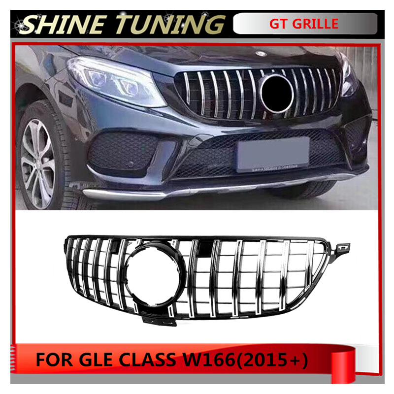 2016 Mercedes Benz Gle Coupe Exterior: GT GTR Grille Suitbale For Mercedes Benz GLE Class W166
