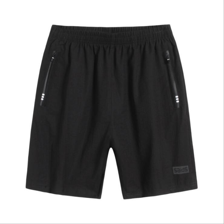 Тонкий 5 центов короткие мужские летние спортивные плюс толстый плюс-размер Короткие мужские 5 центов короткие брюки летние свободные F-78