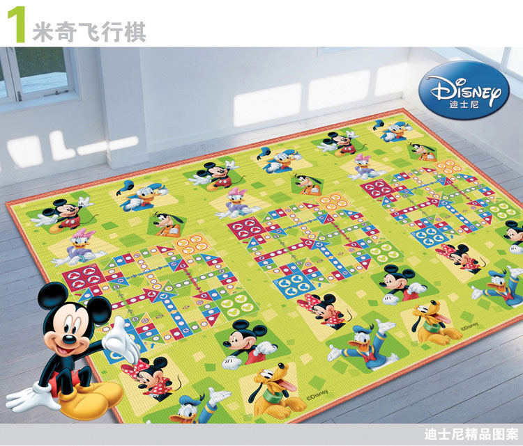 Disney Mikey Large Funny Floor Rugs Baby Play Mats With Chess Dice Family Educational Toys For Children Kids Room In From Hobbies On