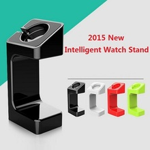 100pcs 2015 Latest hot Desktop Charging Stand Dock holder For Apple Watch iwatch display Holder Bracket for smart watch