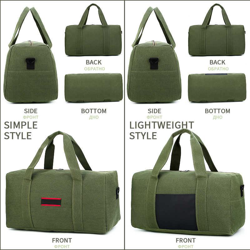 MARKROYAL Große Kapazität Männer Reisetaschen Tragen auf Leinwand Gepäck Tasche Männlichen Reise Duffle Übernachtung Tote Umhängetasche Wochenende Tasche