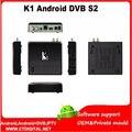 Android receptor de satélite s2 Quad Core k1 K1 android satélite caixa s2 + Ccam 1 gb 8 gb xbmc android s2 dvb de tv híbrido caixa
