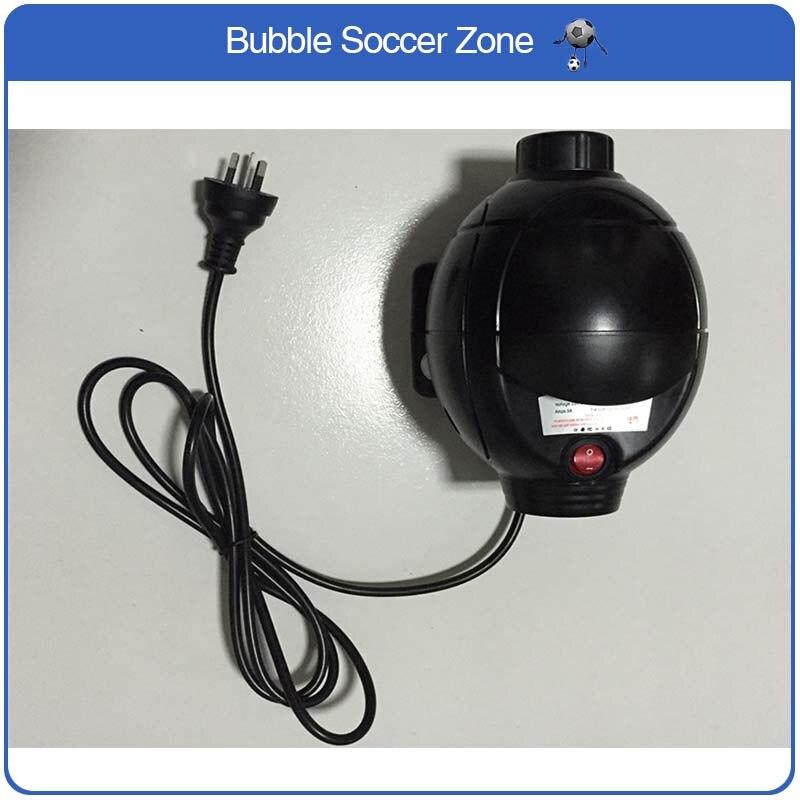 O Envio gratuito de 800 w AC Ventilador de Ar Da Bomba de Ar Elétrica Bomba De Ar Inflator Para O Produto Inflável Bolha Bola de Futebol pista