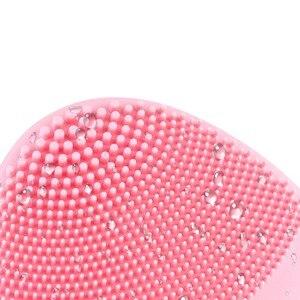 Image 5 - Điện Mini Rửa Mặt Bàn Chải Massage Máy Giặt Silicon Chống Thấm Nước Mặt Chăm Sóc Da Rửa Mặt