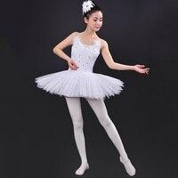 2017 Top Selling Leotard Dress Girls Dance Costume Elegant Dance Wear Women Professional Ballet Dance Costume+ Head Flower