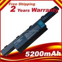 5200mAh Laptop Battery For Acer Aspire E1 E1 571 E1 571G V3 V3 471G V3 551G