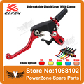 TAIWAN MX PRO CAKEN Universal Parts Dirt bike Motorcycle  CNC Adjustable Extendable Folding Aluminum Clutch Lever Free Shipping!
