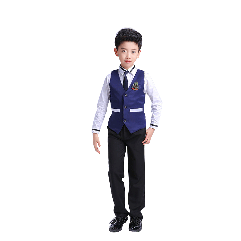 School Uniforms Chorus Performances For Boy and Girl Kindergartens Autumn and Winter Class Suits Korean School Uniform