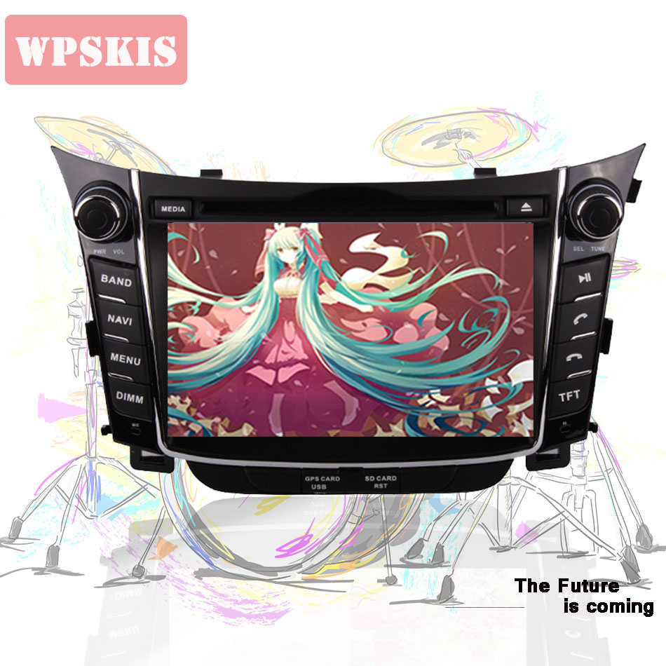 2 Din Android 9 0 4GB RAM Car DVD player GPS Navigation Headunit For Hyundai I30
