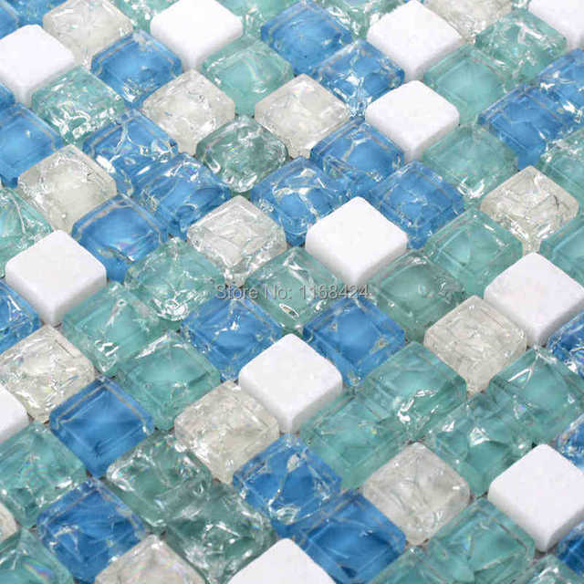 Ice Tiles Tile Design Ideas Frosted Gl Mosaic Techieblogie Info