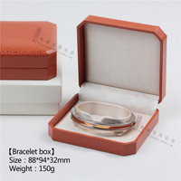 Orange Color Ring Box And Necklace Pendant Or Earrings Bracele Boxes The Jewellery Gif Box For