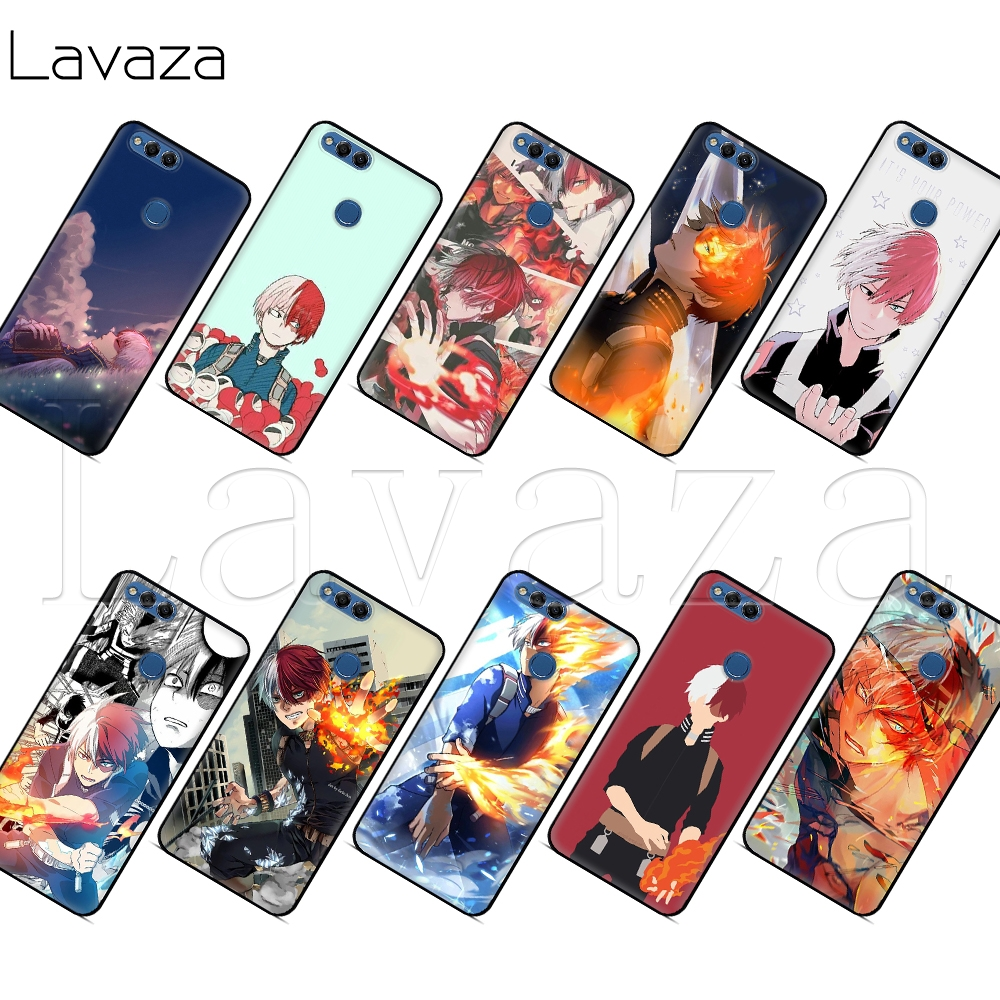 Lavaza My Boku No Hero Academia Todoroki Shouto <font><b>Case</b></font> for <font><b>Honor</b></font> Mate 10 20 6a 7a 7c 7x 8 8C 8x <font><b>9</b></font> <font><b>Lite</b></font> Pro Y6 2018 Prime image