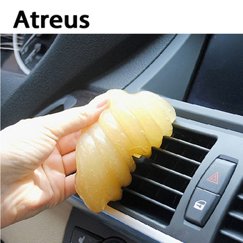 Atreus Car sytling Keyboard clean Multifunction gel Automobile for VW Polo Passat b5 b6 b7 golf 4 7 5 t5 Touran Toyota Corolla image