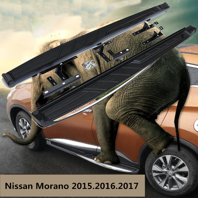 For Nissan Morano 2015.2016.2017 Car Running Boards Auto Side Step Bar Pedals High Quality Brand New Original Design Nerf Bars