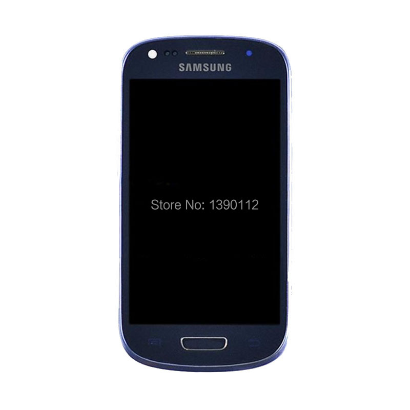 ФОТО For  Samsung Galaxy S3 mini G730A LCD Screen Digitizer Touch Glass + Frame Bezel