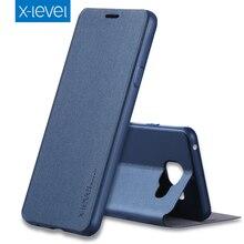 X Уровня Люкс Бизнес PU Кожаный Чехол для Samsung Galaxy A5 A3 2017 A7 A8 A9 Pro 2016 G530 G531 Откидная Крышка Подставка Чехол Капа