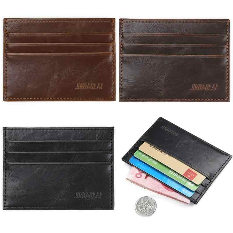 Maison Fabre   Fashion Retro Men Leather Clutch Billfold Credit ID Card Slim Purse Wallet wallet card protector  Aug 16