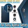 Lente da câmera tampa do protetor protetor para sony xperia xz x compact xa de ultra E5 Z5 M4 M5 Z4 Z3 Z2 Z1 Z Película Protetora de Vidro Temperado