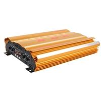 12V High Power Car Amplifier Professional Multichannel Car Speaker Booster 600W Support Bridge