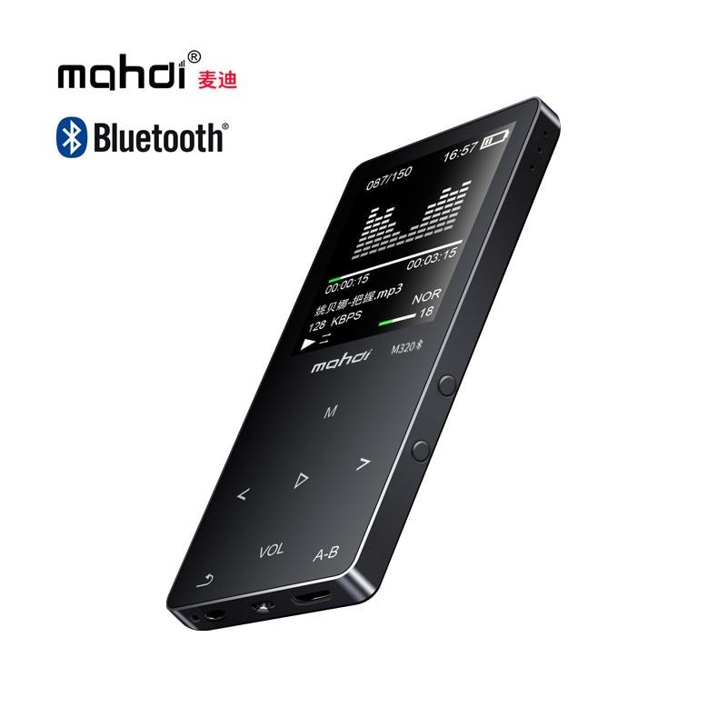Mahdi M320 Bluetooth MP3 Player 8GB 1.8