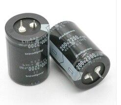 200V 2200UF 2200UF 200V Electrolytic Capacitor volume 35X50