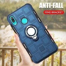 Купить с кэшбэком For Huawei Y7 Prime 2019 Back Cover Silicone Case For Huawei Y7 2019 Phone Case For Huawei Y7 Prime 2018 Y 7 2018 TPU Armor Case