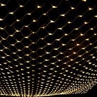 220V EU Plug String Lights 4m x 6m 640 LED Net Mesh Fairy Twinkle Flash Lamp Home Garden Christmas Wedding Tree Party Garland