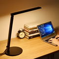 Modern Office Desk Lamp LED Desktop Work Lamp 5-level Dimmer Touch Control Bedside Study Reading Lights Foldable PC Table Lamp