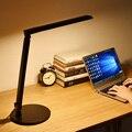 Moderno Escritorio de Oficina Lámpara de Trabajo Lámpara de Escritorio LED Dimmer Touch Control de $ number niveles de Estudio de Noche Luces de Lectura Lámpara de Mesa Plegable PC