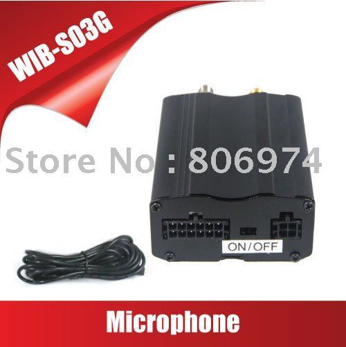 Hot sell Real Time GSM/GPS Tracker Based on GSM/GPS Vehicle GPS Tracker S03GS