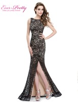 Long Mermaid Evening Dresses Ever Pretty HE08859 Long Evening Dresses 2016 New Arrival Sexy Split Formal