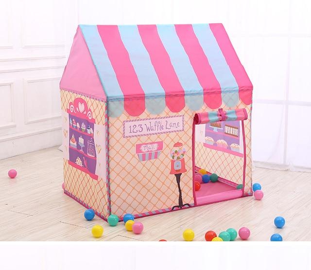 YARD Pink Kids Toys Tents Elegant Kids Play Tent Baby Boy Girl Princess Castle Outdoors House Children Play Ball Pool Tents  sc 1 st  AliExpress & YARD Pink Kids Toys Tents Elegant Kids Play Tent Baby Boy Girl ...