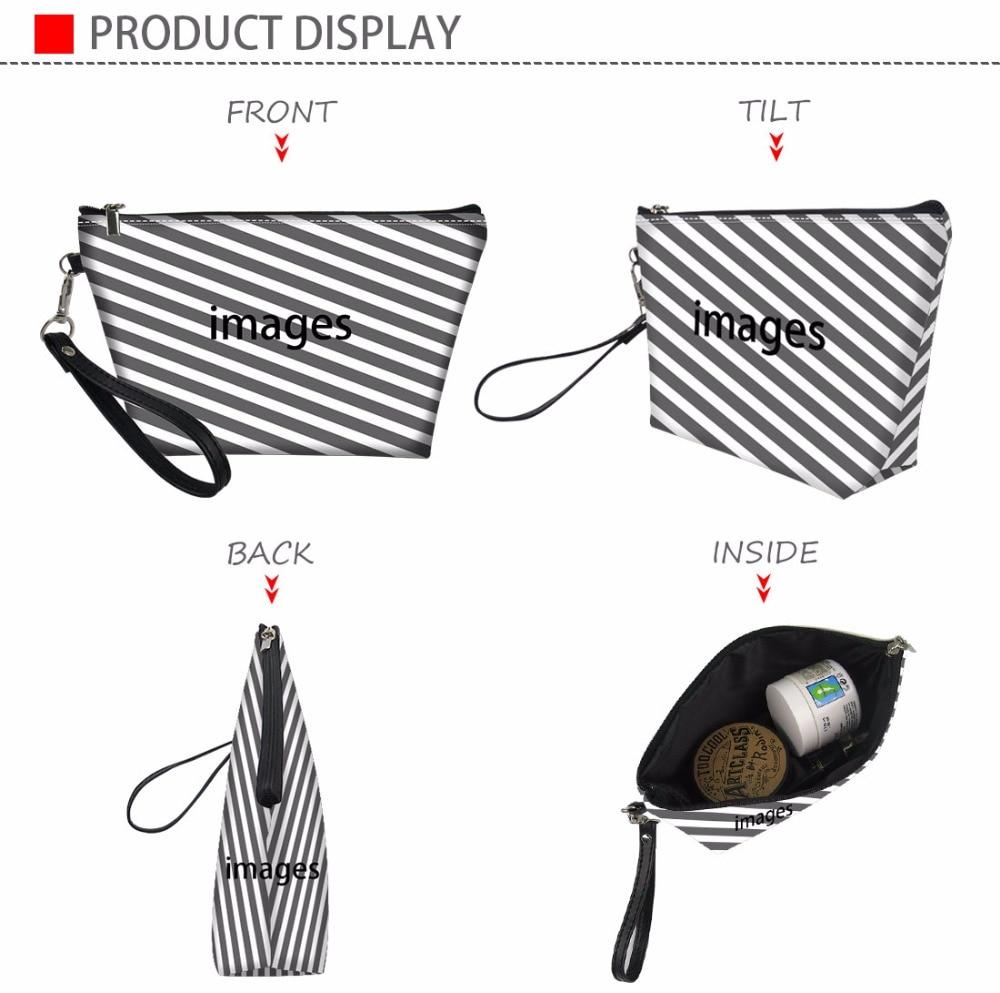 Купить с кэшбэком FORUDESIGNS Casual Wash Kit Bag Women Yorkie Printing Cosmetic Cases Femme Cute Makeup Pouch Zipper for Ladies Travel Organizer
