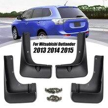Спереди и сзади брызговики брызговик для крыло для Mitsubishi Outlander 2010 2011 2012 2013