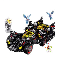 2019 super heroes Batman movie Ultimate Batmobile fit batmans figures compatiblele legogy Building Block 70917 gift kid diy Toys все цены