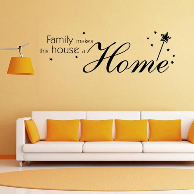 2018 Family Letter Quote Removable Vinyl Decal Art Mural Home Decor ...