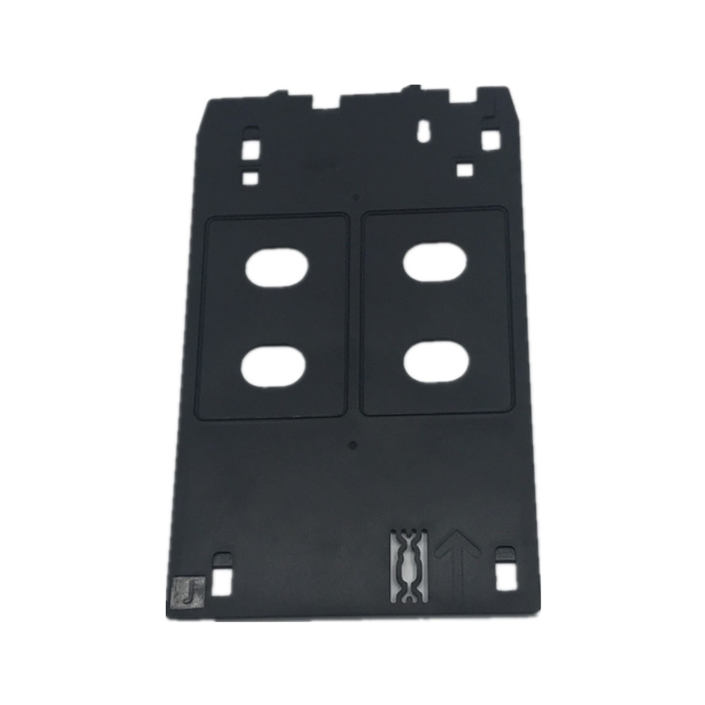 5X/lot Plastic ID card tray for Canon IP7230 IP5400 MG7120 MG7130 inkjet printers to print blank pvc card Educational ID Cards