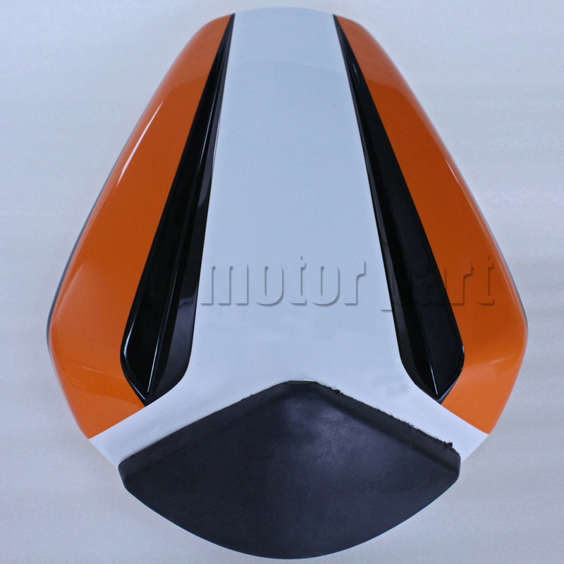 For 2012-2015 KTM 125 200 390 Duke Motorcycle Rear Passenger Seat Cover Cowl 11 12 13 14 15 for ktm 390 duke motorcycle leather pillon rear passenger seat orange color