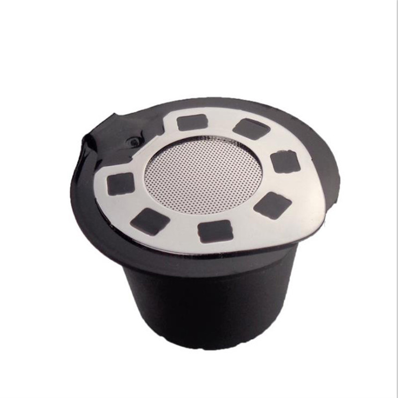 Coffee Filter 20ML Reusable Refillable Coffee Capsule Filters for Nespresso cafilas Kitchen Accessories