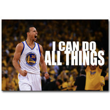 Saya DAPAT-Stephen Curry Motivational Penawaran Art Silk Cetak Poster 13x20 32x48 inch Basketball Inspirational gambar untuk Wall Decor(China)