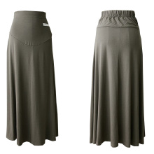 Stylish Long Maternity Skirt