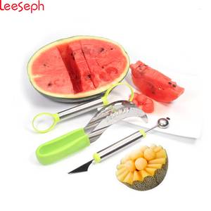 Leeseph Stainless Steel Watermelon Slicer Knife for Fruit